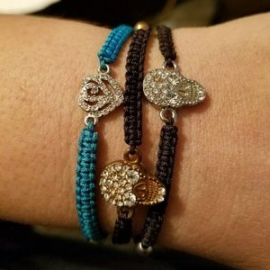Dainty Macrome Crystal Bracelet